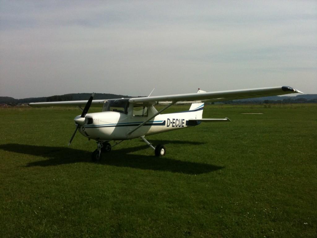 Cessna 150 in EDFB Reichelsheim